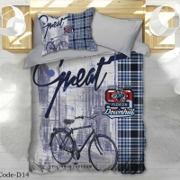 Bedding Set Life Style Single 4pcs