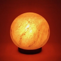 Fire Ball Salt Lamp
