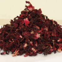 Dried Hibiscus Leaves