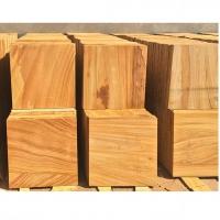 Teak Wood Sandstone Cut To Size Tiles