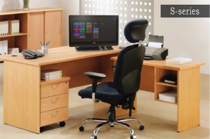 Office Chair, Table
