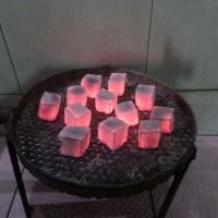 Burning-Test Cube Shape Charcoal