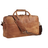 Leather 17'' Laptop Bag Business Briefcase