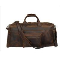 Genuine Leather Weekender Travel Duffel Bags