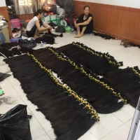 Wholesale Price Raw Remy Human Hair