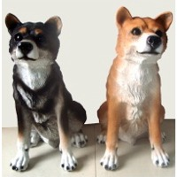 Polyresin Dog Statue