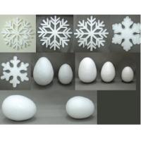 Styrofoam Snowflakes