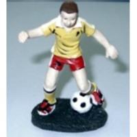 Polyresin footballer