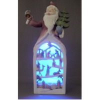 Santa claus with LED light