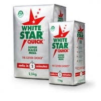 White Star Maize Flour, White Corn Flour