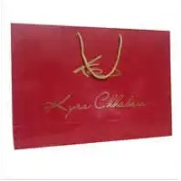 Customized Red Paper Bag