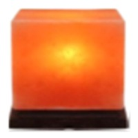 Salt Cube Table Lamp