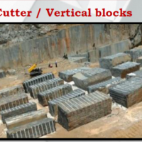 Granite- Cutter Vertical Blocks