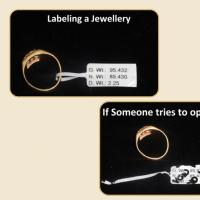 Jewellery Tag Label