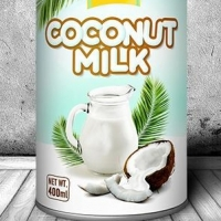 Organic Coconut Milk Can