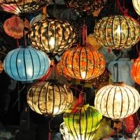 Silk Lantern & Vietnamese Lantern