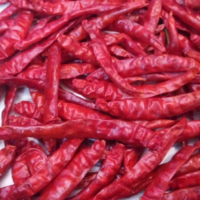 Teja s17 Dried Chilli - Red Chilli Stem Less