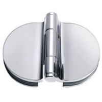 Shower door bi-fold hinges