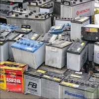 Auto Batteries & Drained Battery Scrap