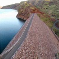 Dam Wall Protection Rock