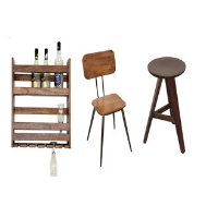Bar Cabinet And Chair