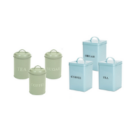 Coffee Tea Sugar Jar Set