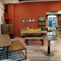 Metal And Wood Furniture