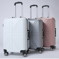 ABS+PC Alloy Frame Trolley Luggage And Suitcase