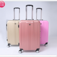 ABS PC Aluminum Frame Luggage Trolley Case