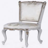 Vintage Furniture: White Attique Classic