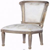 Vintage Furniture: Gold Attique Classic