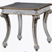 Vintage Furniture: White Attique Table