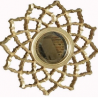 Vintage Furniture: Sun Flower Mirror