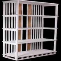 Vintage Furniture: 4 Cube Organizer Shelf