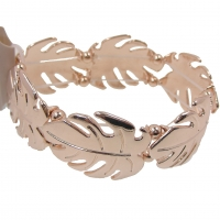 Metallic Leaf Bangle