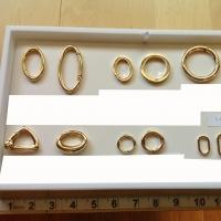 Metal Clasp Rings