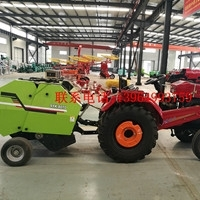 Straw Pick-up N Bundling Machine