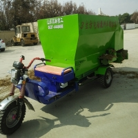 Forage Spreading Vehicle