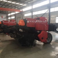 Straw Cutting And Crushing Square Baler