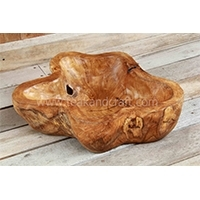Wooden Bowl Star Shape