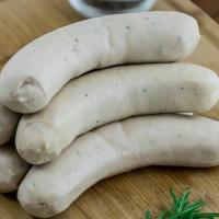 Pork Bavarian Weisswurst Sausage