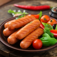 Chicken Sausage With Red Chilli