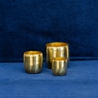 Organic Brass Vessels